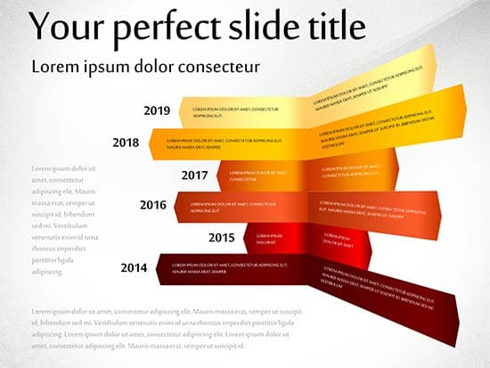 Timeline Concept PoweredTemplate
