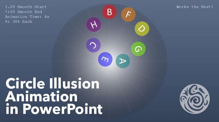 Circle Illusion Animation in PowerPoint