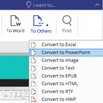 Convert PDF to PowerPoint with PDFelement 6 Pro