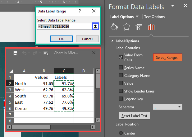 Select Range for Data Labels