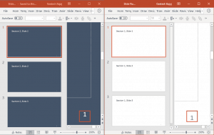 Numbering Slides from 1, Multiple Times in PowerPoint