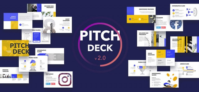 10 Pitch Deck PowerPoint Template Trends in 2019