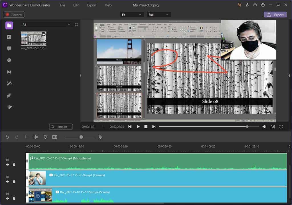 DemoCreator Video Editor