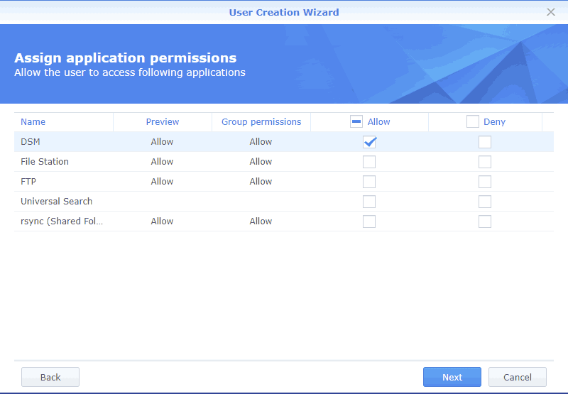Assign application permissions